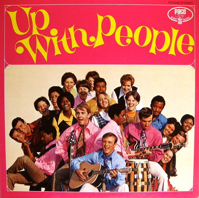 Photo:Up With People- self-titled LP, circa 1970 By Abaraphobia