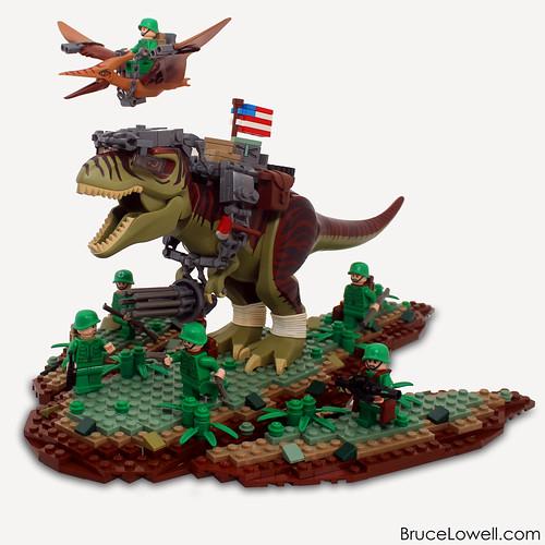 LEGO 373rd Reptilian Infantry Squad