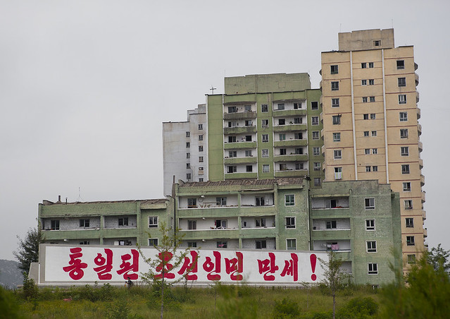 Residential District, Kaesong, North Korea