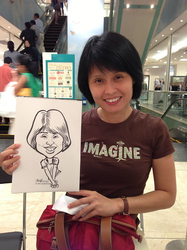 caricature live sketching for Takashimaya Good Friday Special - 8
