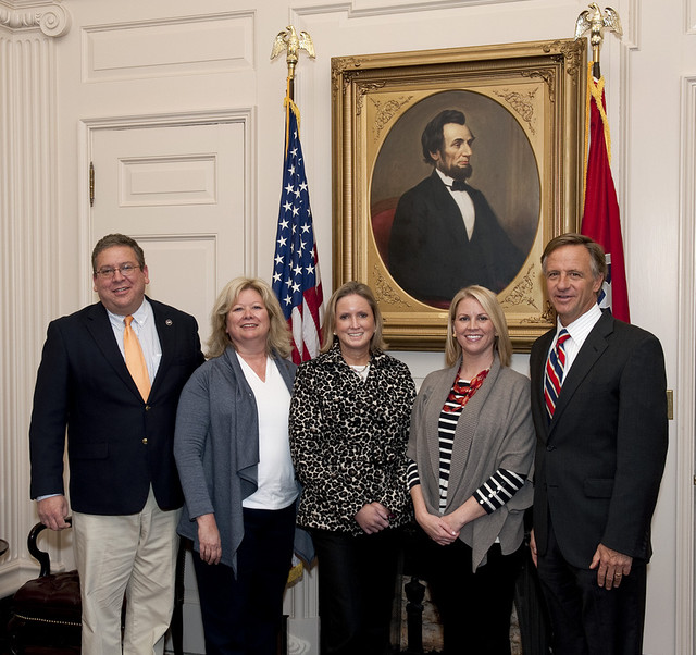 Gov Haslam and Fam