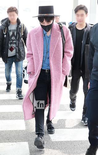 Big Bang - Incheon Airport - 21mar2015 - G-Dragon - FN Star - 02