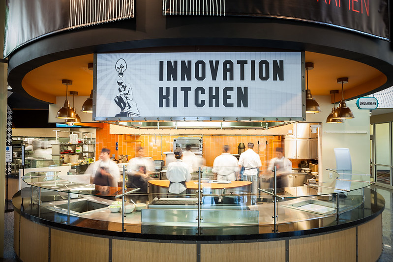 Innovation Kitchen in The Egg