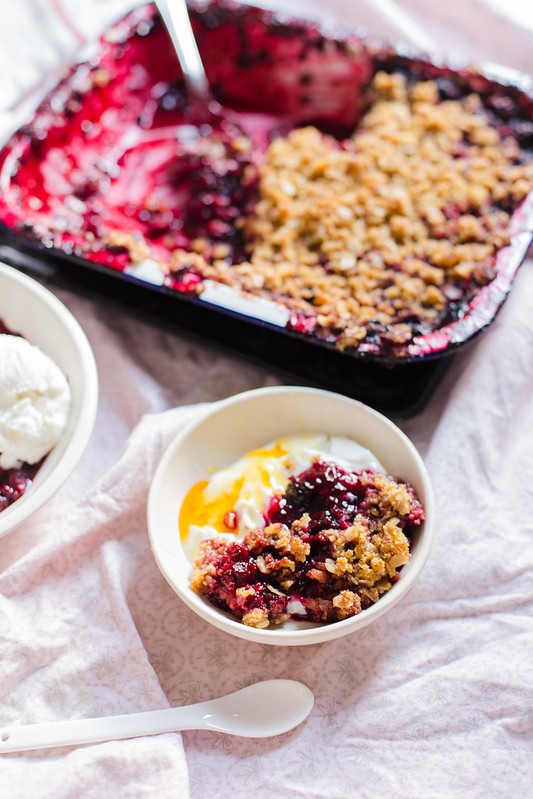 Blackberry Mint Crisp