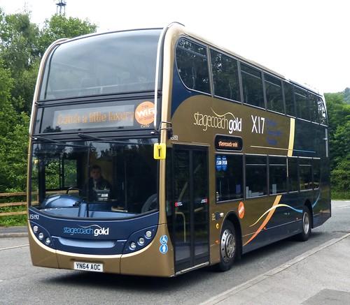 YN64 AOC 'Stagecoach Yorkshire' No. 15192 Scania N230UD / ADL Enviro 400 on 'Dennis Basfords railsroadsrunways.blogspot.co.uk'