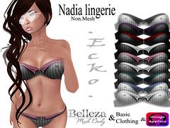 .Ecko. Ladia lingerie _ AD
