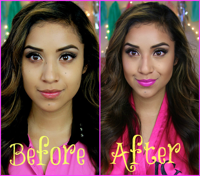 BeforeAfterDulce Candy