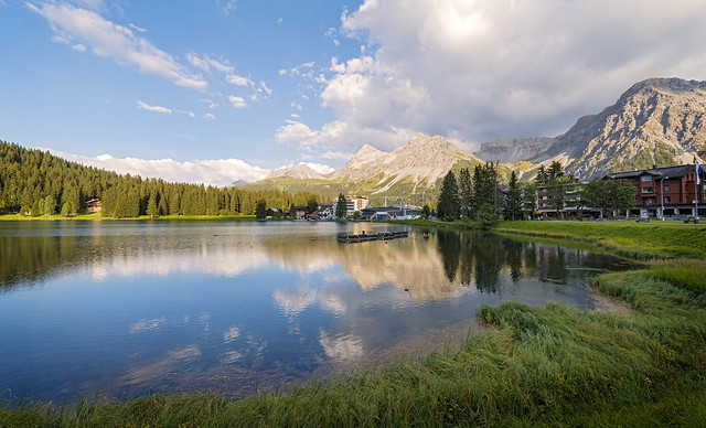 Arosa and its lake