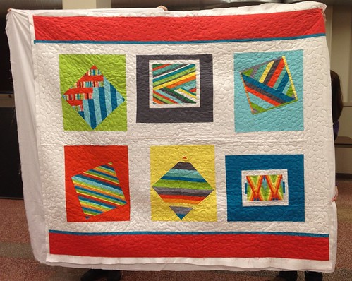 ACS Quilt sans Binding by Pittsburgh MQG