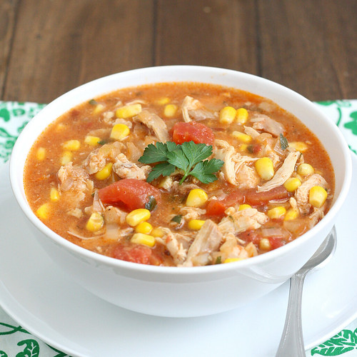 Slow Cooker Tex-Mex Chicken Stew