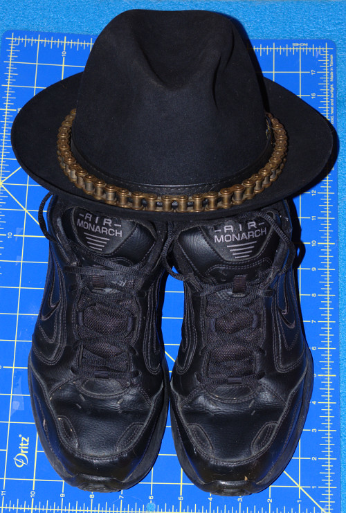 Shoes Hat Dritz and Brass Chain