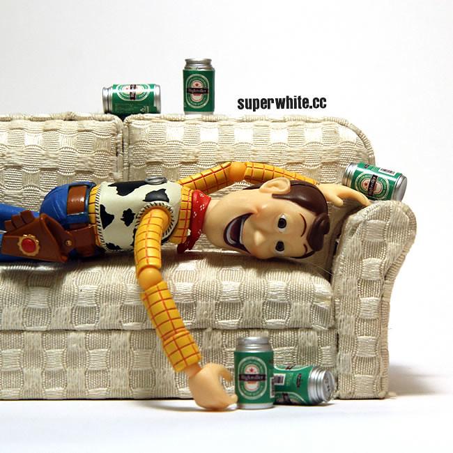 Soooo… Woody got wasted
