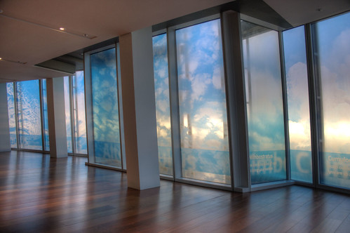 Floor 68 - cloudy views
