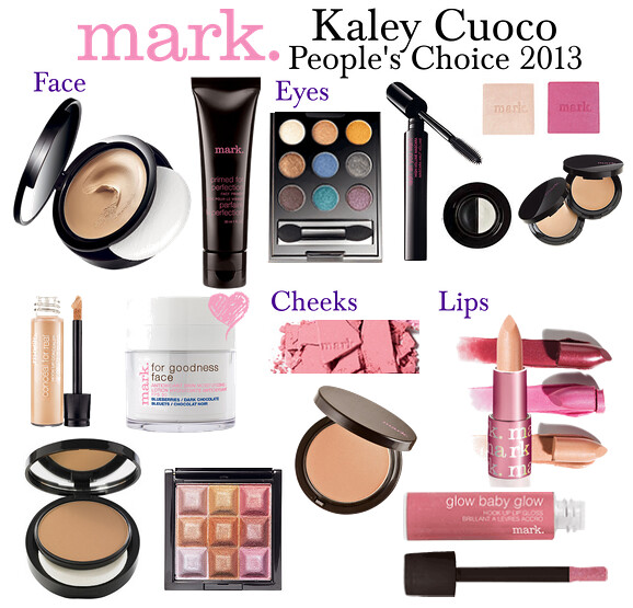 Living After Midnite: mark. Makeup Monday: Kaley Cuoco People's Choice Awards