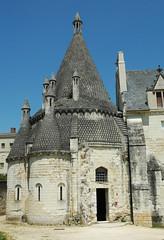 2012.05 PAYS DE LOIRE - FONTEVRAUD - L'abbaye