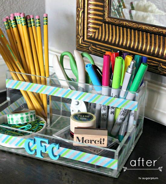 {DIY} Custom Desk Accessories | Flickr - Photo Sharing!