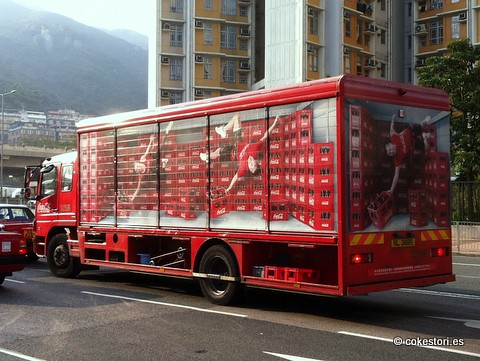 Swire Coca-Cola truck in Shatin, Hong Kong by cokestories