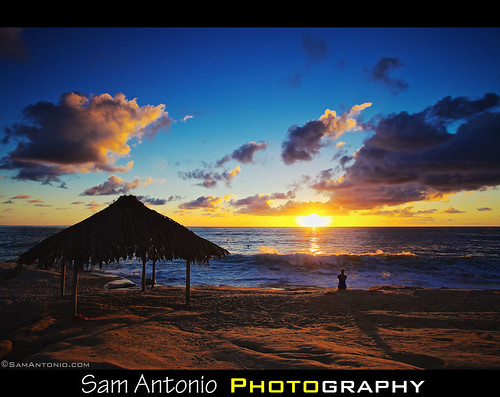 Come and enjoy a Windansea Sunset in La Jolla, California by Sam Antonio Photography