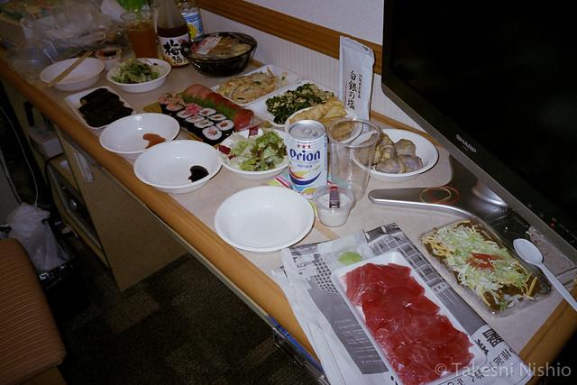 豪華な夕食 / Fancy dinner