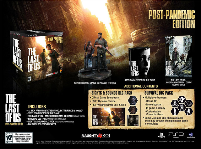 The Last of Us: Post-Pandemic Edition for PS3