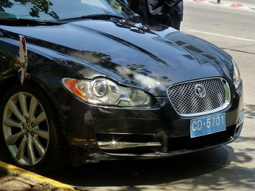 Jaguar XF, diplomático británico