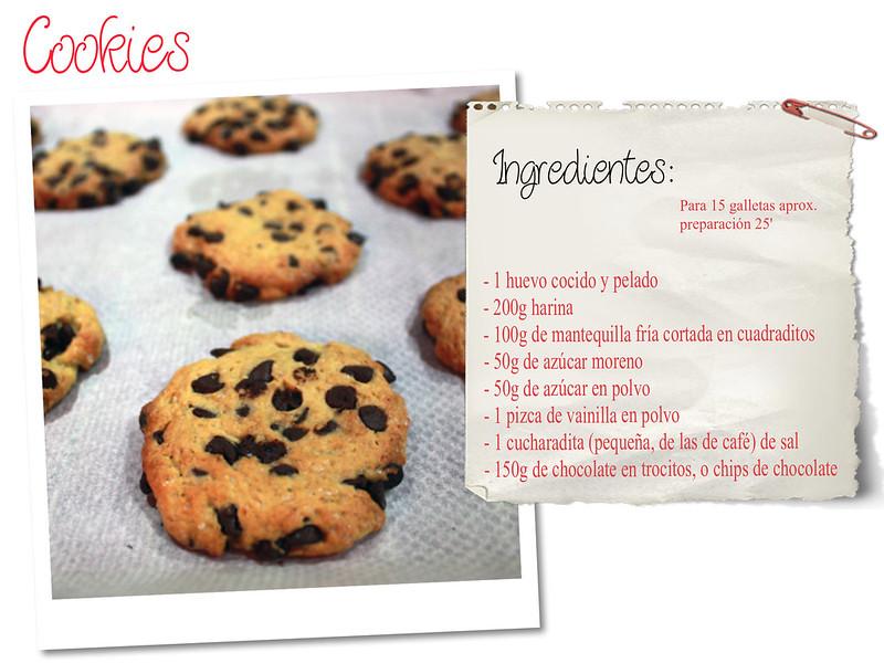 RECETA: Cookies