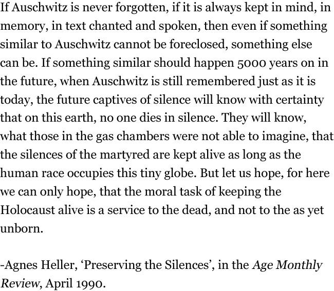 January 27, 2013 – International Holocaust Remembrance Day