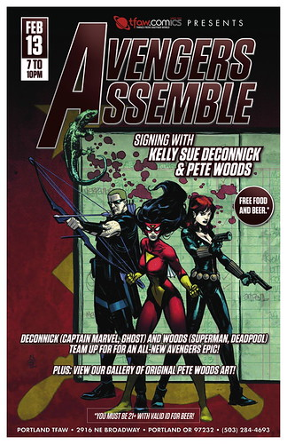 Avengers Assemble Signing @ Things From Another World