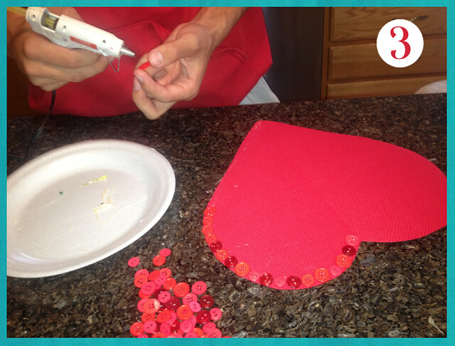 Valentine's Day Craft - Step 3