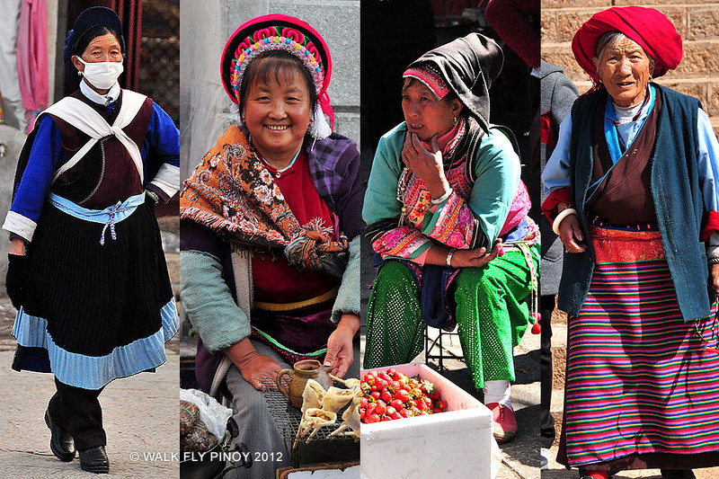 Women of Yunnan, China
