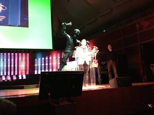 Congrats to my former team (@GoogleMaps for mobile) for their Crunchie!  Go @DanielGraf - great acceptance speech!