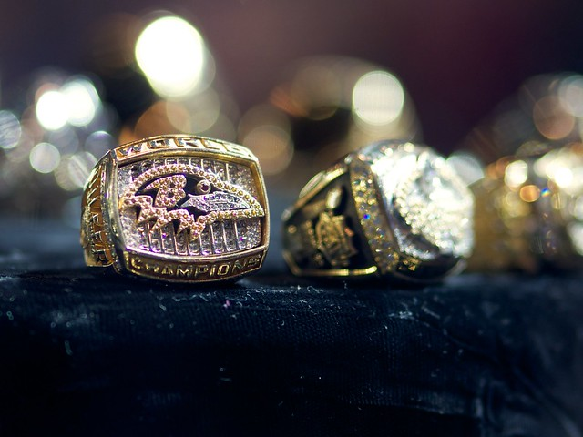 Baltimore Ravens - Super Bowl XXXV Ring from Flickr via Wylio