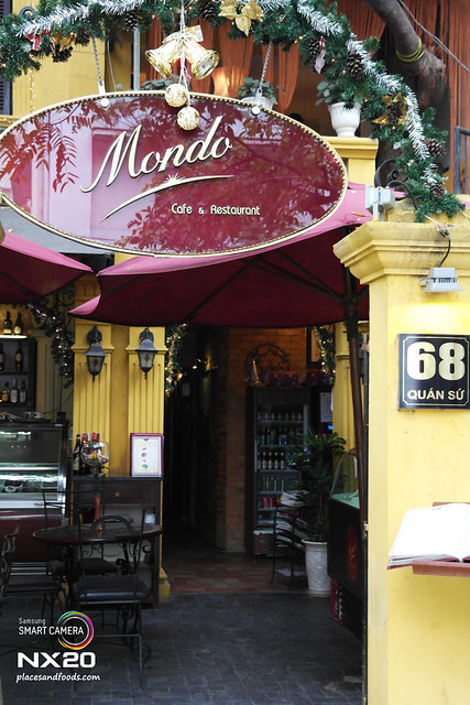 mondo cafe and restaurant hanoi