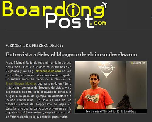 Entrevista en Boarding Post