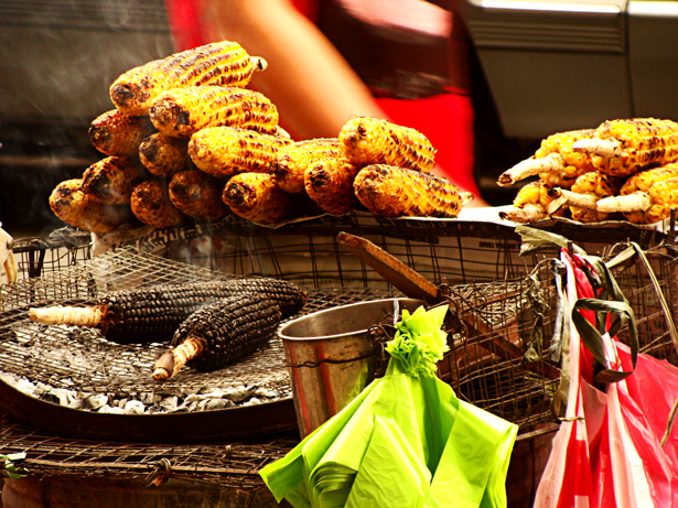 Barbequed corn at Divisoria