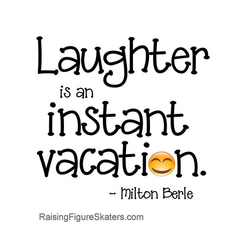 """Laughter Is An Instant Vacation"" Word-Art Freebie"