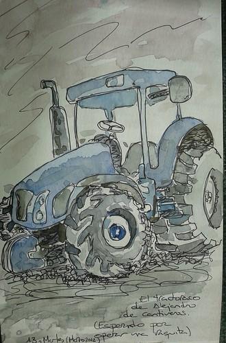 tractor, cantiveros