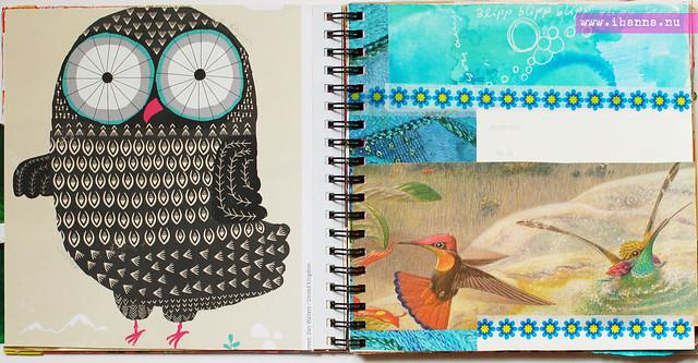 Owl + Colibri