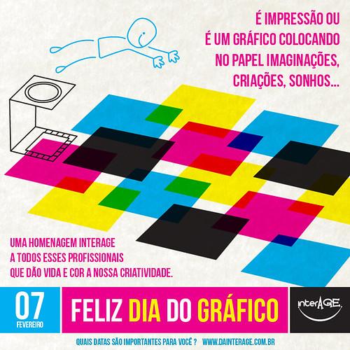 Homenagem InterAGE ao Dia do Gráfico, 7 de fevereiro by InterAGE