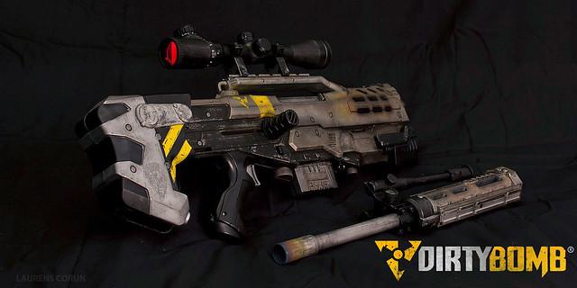Dirty Bomb Nerf Gun