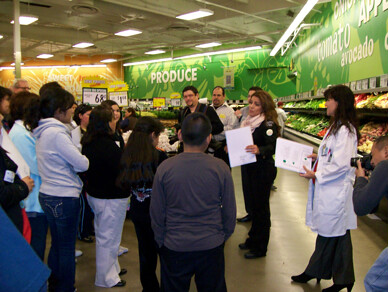 Supermarket Tour Nutrition Healthy Eating White Memorial Medical Center Charitable Foundation