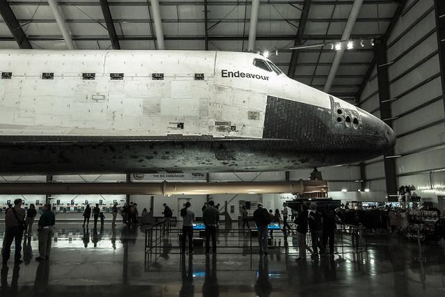 space shuttle endeavour california science center - photo #6
