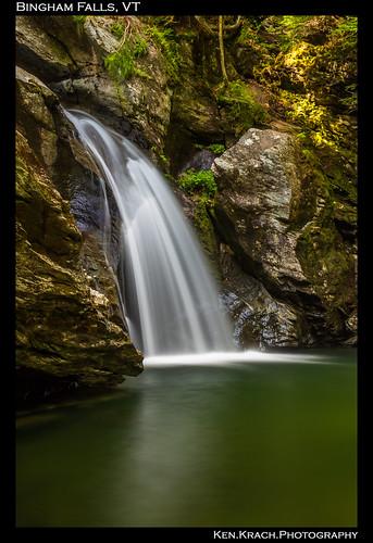 longexposure water waterfall vermont binghamfalls