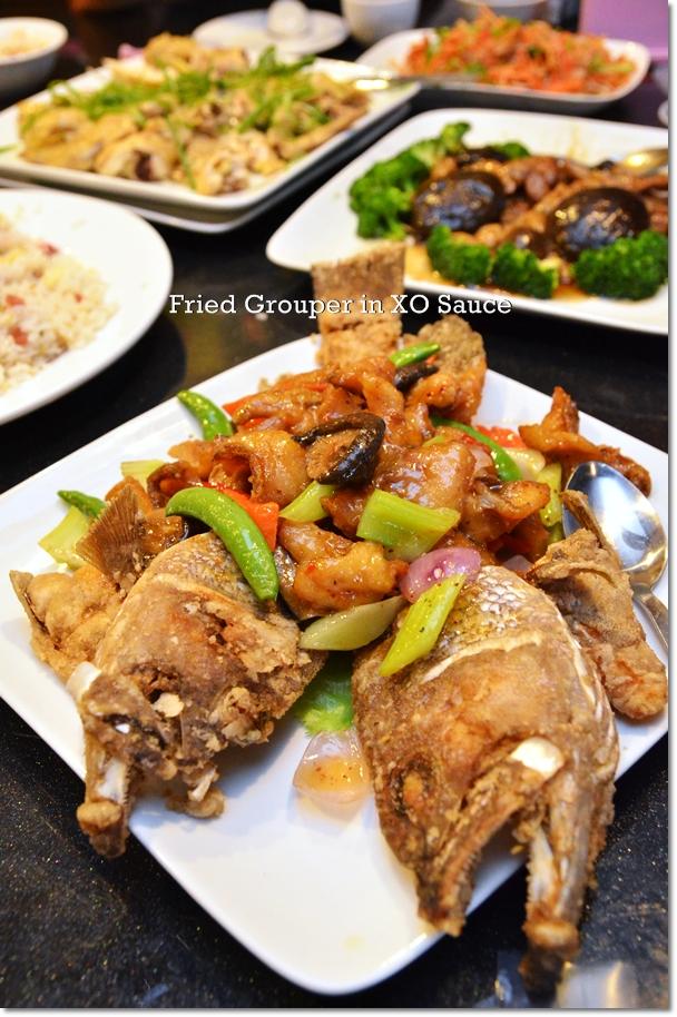 Fried Grouper in XO Sauce