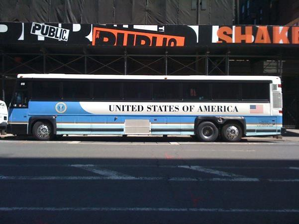 Ground Force One Bus Ground Force One | Exp...