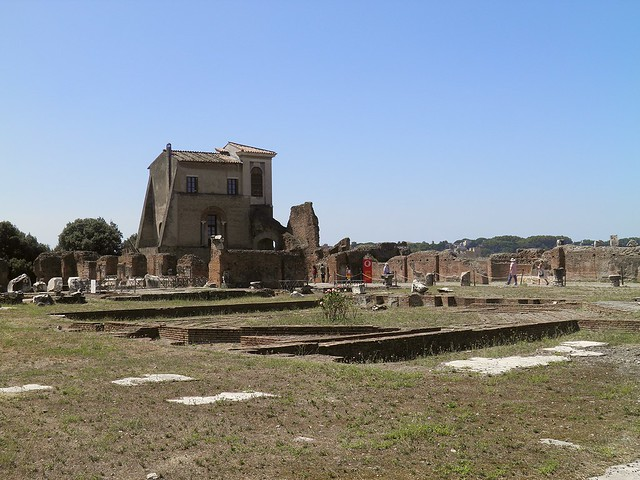 The Domus Flavia, the Palatine, Rome