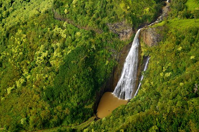 Manawaiopuna Jurassic Falls Kauai