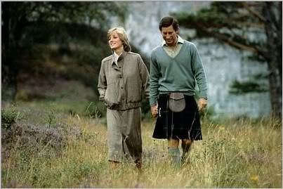 1981 Charles and Diana's honeymoon in Balmoral, Scotland in 1981.101