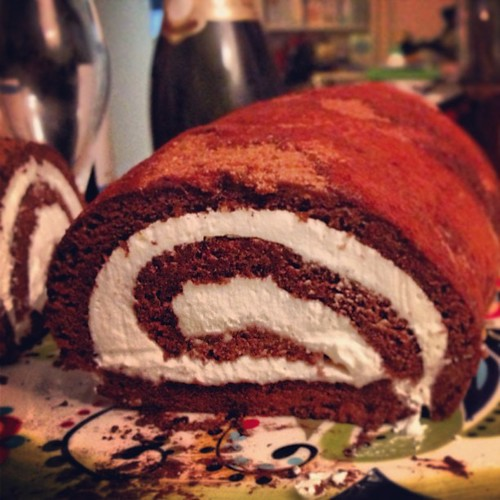 Celebration choccie roll