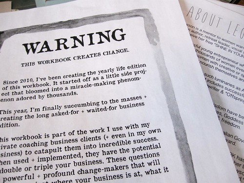 Heed the Warning